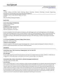 cover letter architect internship write a test