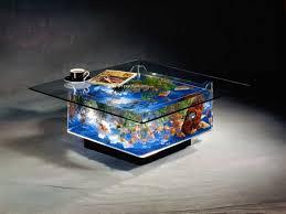 modern rectangular frameless clear glass coffee table