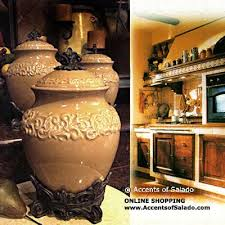 tuscan style kitchen canisters 214 best tuscan pottery images on tuscan style