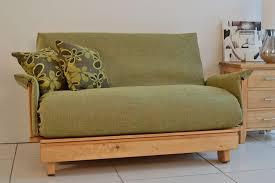 furniture charming arm futon sofa bed two drawers storage black