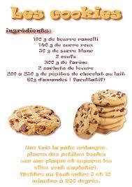 recette cuisine maternelle la maternelle de laurène les cookies