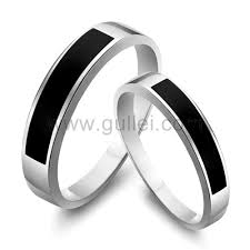 Sterling Silver Engravable Jewelry Engravable Sterling Silver Couples Promise Rings Set For 2