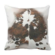 Leather Cowhide Fabric Cowhide Pillows Decorative U0026 Throw Pillows Zazzle