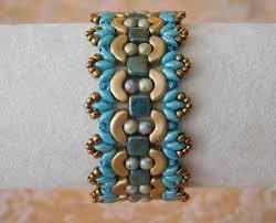 beading bracelet images Beaded bracelet tutorial beading bracelet pattern persephone etsy jpg