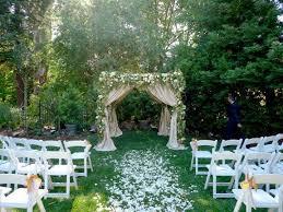 Small Backyard Wedding Ceremony Ideas Wonderful Backyard Wedding Ceremony Also Small Backyard Wedding