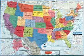 A United States Map by Us Maps For Business