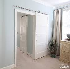 Erias Home Designs Top Of Door Sliding Barn Door Hardware by Indoor Barn Doors Best Build An Interior Barn Door Interesting