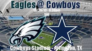 philadelphia eagles 9 6 vs dallas cowboys 8 7
