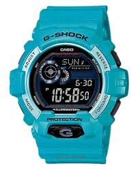 The Watch Co G Shock Gls 8900 Light Blue Casio Watches