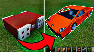 minecraft working car how to make a working car in minecraft pocket edition youtube