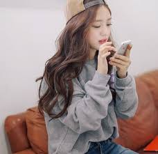 waivy korean hair style natural wavy hair hair pinterest natural wavy hair wavy
