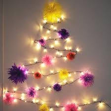 christmas tree shaped lights pretty quirky pants diy fairy lights christmas tree