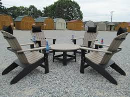 Furniture Composite Adirondack Chairs The Lancaster Poly Patios Home