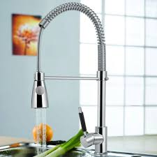 Chrome Kitchen Sink Lenox Single Handle Chrome Kitchen Sink Faucet With Pull Spray Jpg