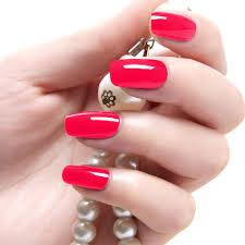 colored acrylic nail tips nail art ideas