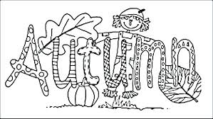 coloring pages of autumn fall coloring pages for kids printable coloring activities for kids