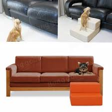 Sofa Bed For Dogs by Cat Dog Leather Portable Covered Folding 2step Stairs Climb Ramp