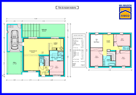 plan etage 4 chambres plan maison cube a etage 4 chambres choosewell co