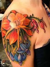 32 unusual lily tattoos designs