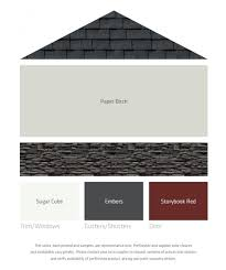 How To Coordinate Paint Colors Fresh Color Palettes For A Gray Or Black Roof