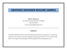 Designers Resume Samples by Graphic Design Resume Examples Pdf