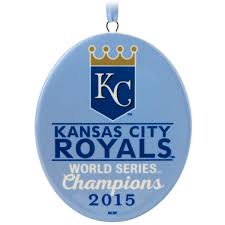 2015 2015 kansas city royals world series hallmark keepsake