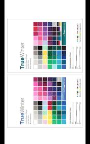 Winter Color Schemes by De 10 Bästa Colorimetry Bilderna På Pinterest