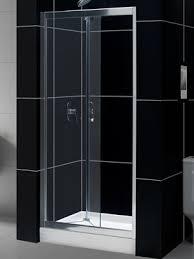 30 Shower Door Dreamline Butterfly 30 To 31 1 2 Frameless Bi Fold Shower Door