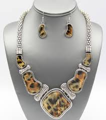 wholesale animal necklace images Animal print color wholesale jewelry and accessories jpg