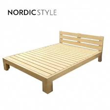 Single Bed Frame Nordic Style Pine Wood Bed Frame Si End 2 16 2020 6 28 Pm