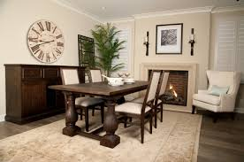 Wood Rectangle Dining Table Dining Room Exquisite Dining Room Decoration Using Wooden White