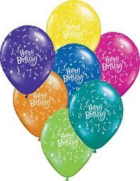 happy birthday balloon 11 inch qualatex happy birthday and balloons