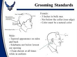 air force female hair standards dress and appearance standards ppt video online download
