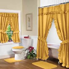 Shower Curtain To Window Curtain Interesting Bathroom Design With Shower Curtain With Matching