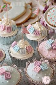 cupcakes for baby shower girl 10 cupcake ideas for any baby shower alphabet blocks baby