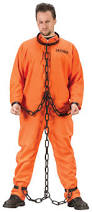 chain link prisoner dungeon chains manacles shackles costume