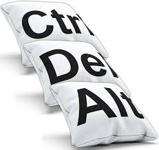 ctrl del alt pillow cushion pad cover case delete home decor ctrl del alt pillow cushion pad cover case delete home decor computer geek nerd