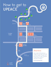 San Jose Costa Rica Map by Visiting Upeace University For Peace