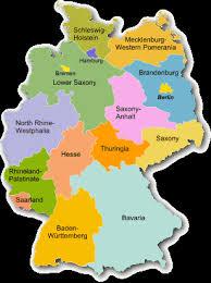 map of deutschland germany german genealogy resources