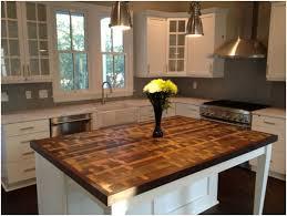 wood kitchen island top gorgeous kitchen island tops 31 best reclaimed wood kitchen island