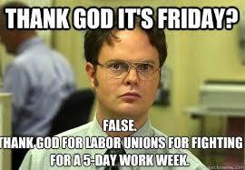 Thank God Meme - union plus happy friday union members tgiu thank god