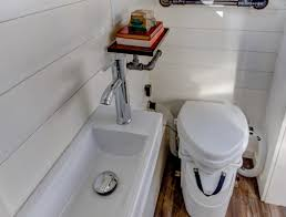 Composting Toilet For Tiny House by Modern Tiny Living The Mohican Buy Tiny Houses