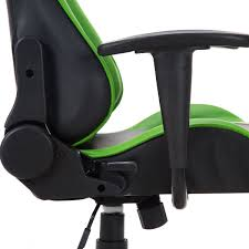 Desk Chair Gaming by Green And Black Racing Style Reclining Gaming Chair Gaming