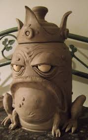 120 best frog vases pottery images on pinterest frog art frogs