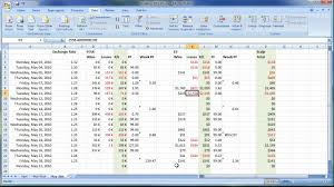 Options Trading Journal Spreadsheet by Keeping A Trade Log And Journal To Track Your Trading