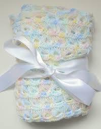 Gender Neutral Gifts by Pastel Rainbow Hand Crocheted Baby Blanket Gender Neutral