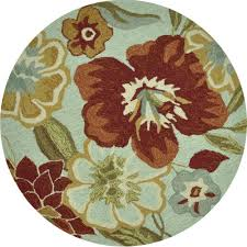 Round Throw Rugs by Round Area Rugs 6x6 Round Area Rug Southwest Southern Medallion