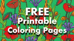 zentangle inspired free printable coloring pages for grownups no