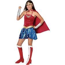 Walmart Size Halloween Costumes Wonderwoman Teen Halloween Costume Size Teen Girls U0027 Size