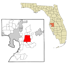 Map Of Tampa Area Brandon Florida Wikipedia